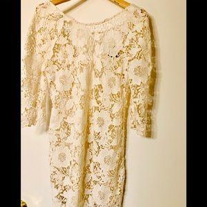 Lace &Crochet  Topshop  short dress